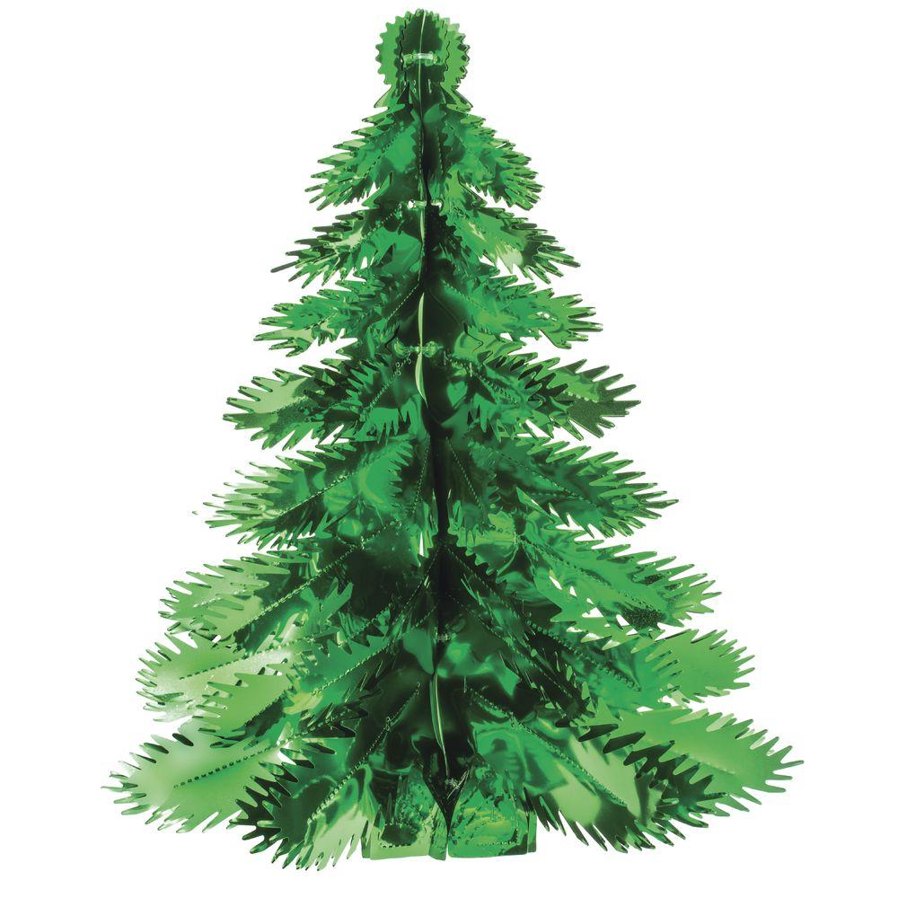 "TREE, GREEN, 25"" FOIL"