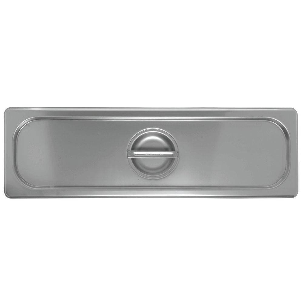 CVR, SOLID, F.2/4 STM TABLE PAN, S/S, 24 GA