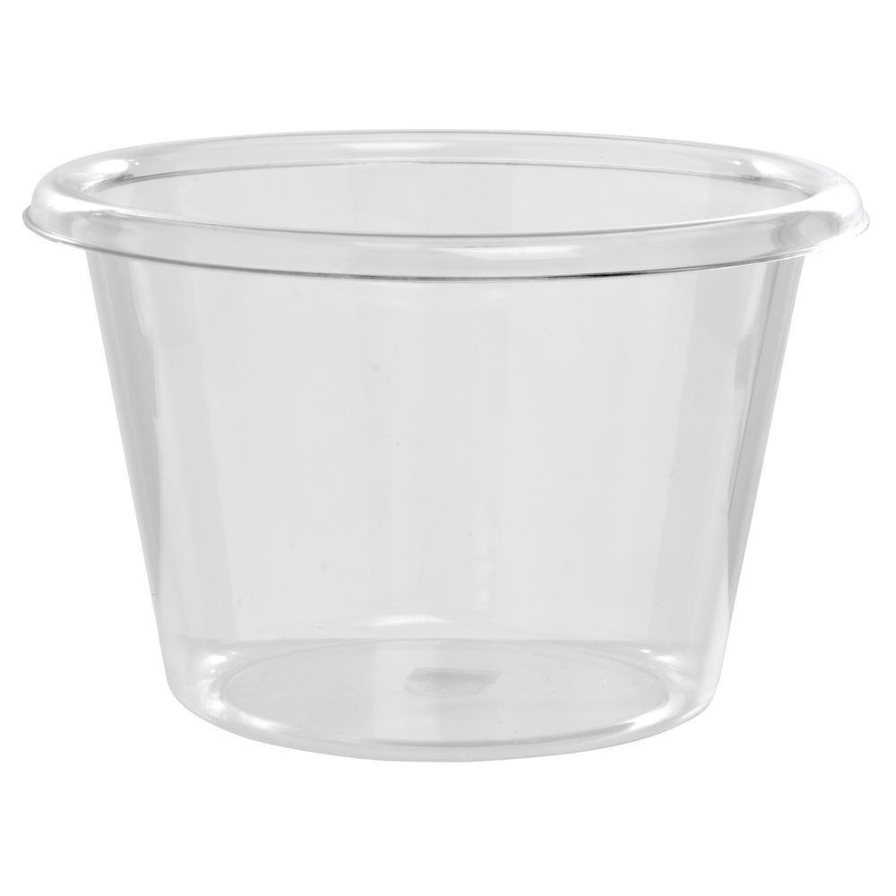 "Medium Clear Acrylic Ice Bucket 7 1/2""H"