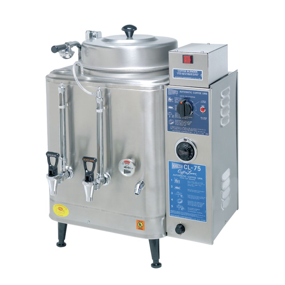 Cecilware® Stainless Single 3 Gallon Coffee Urn