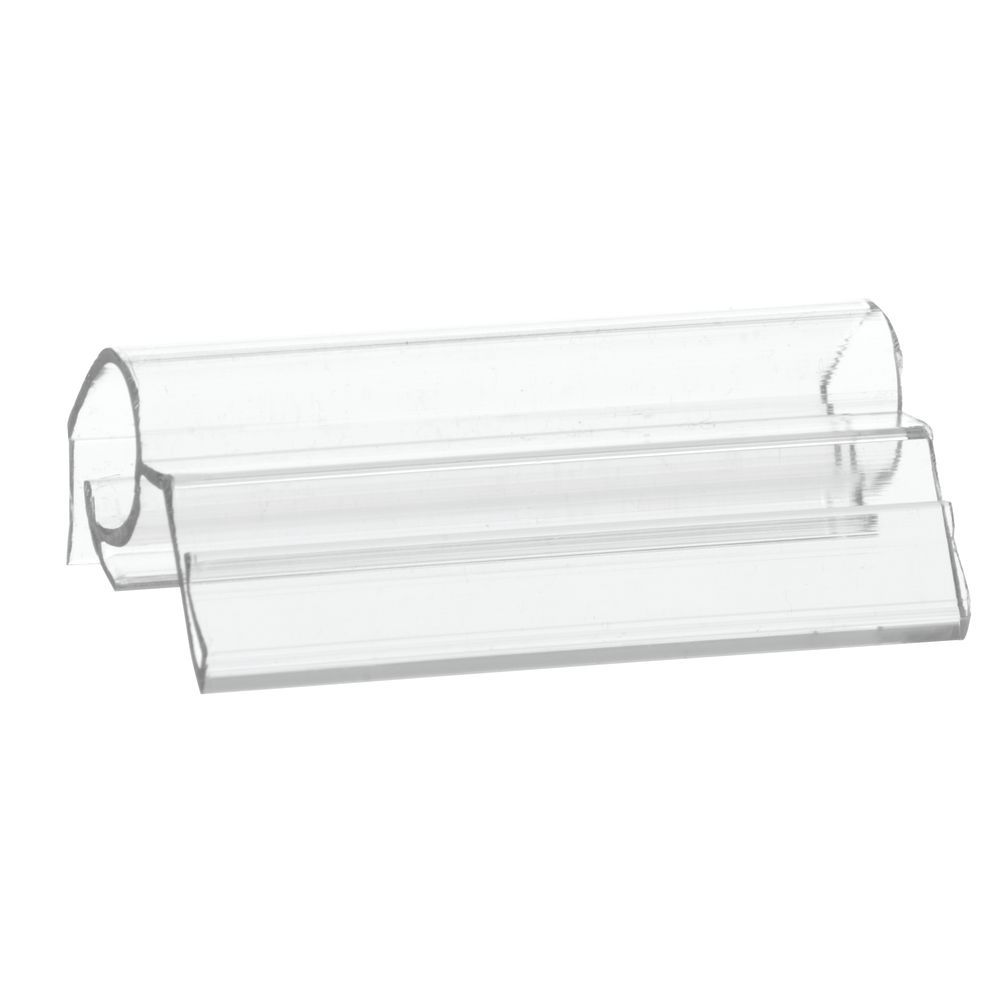 Expressly Hubert Clear Plastic Multi Purpose Wire Sign Holder 5l X 3h Wiring Multiple Fluorescent Light Fixtures Free Download Clip W Gripper 2 1 4 25 Bag