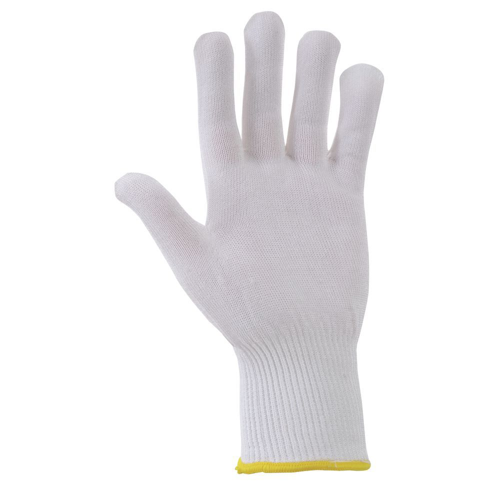 Hubert® Protective Glove 13 Gauge Medium White Ambidextrous