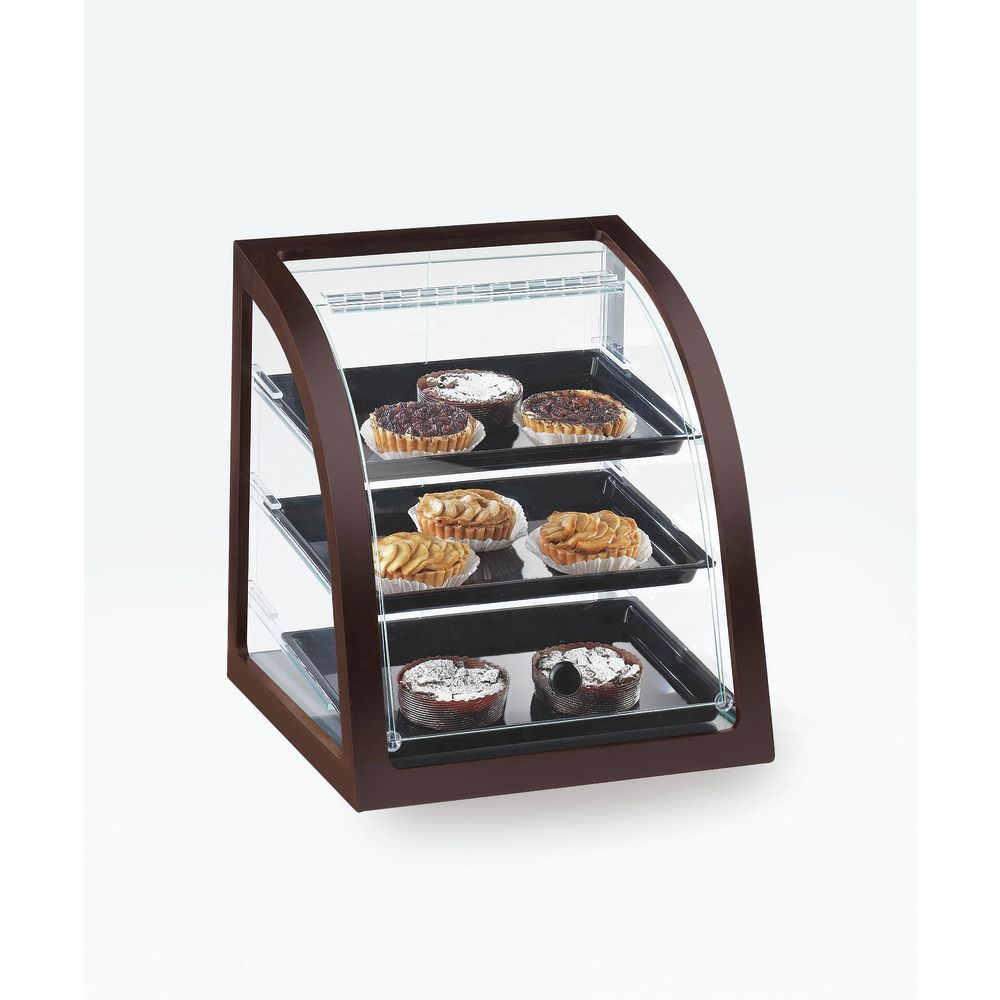 Cal-Mil Westport Mahogany Collection Bakery Display Case Attendant Serve