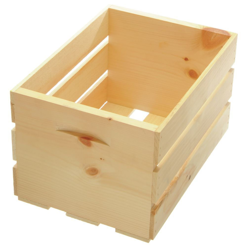 Wooden Crates for Sale in Natural Wood Finish