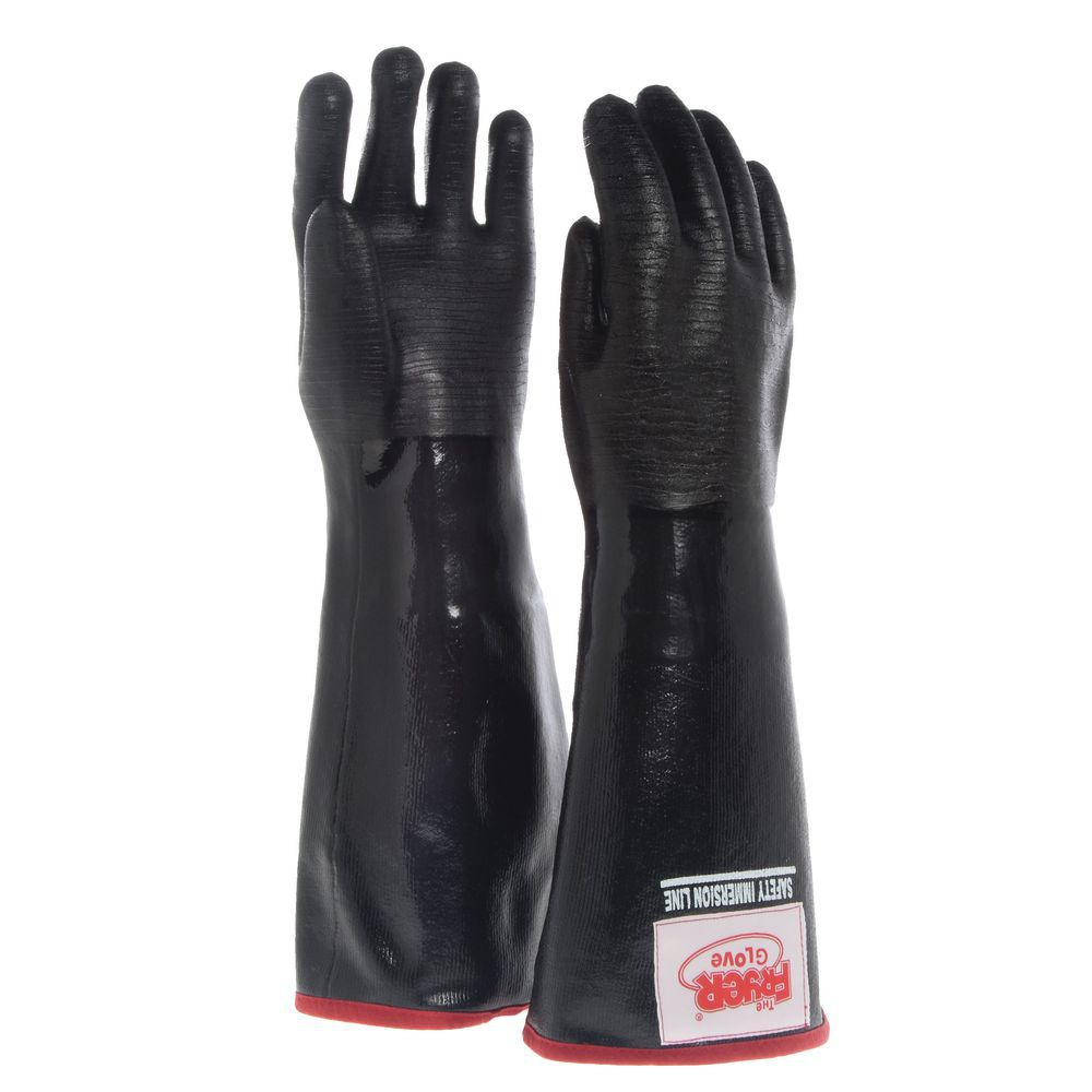 "The Fryer Glove® With Removable Liner 18""L Size Medium Heavyweight Neoprene"