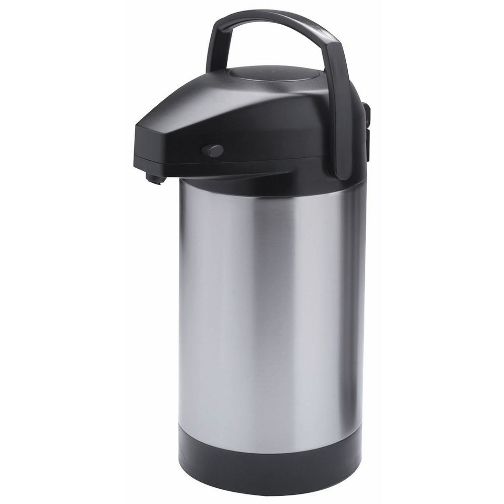 Hubert Stainless Steel Airpot with Pump Lid 3 L