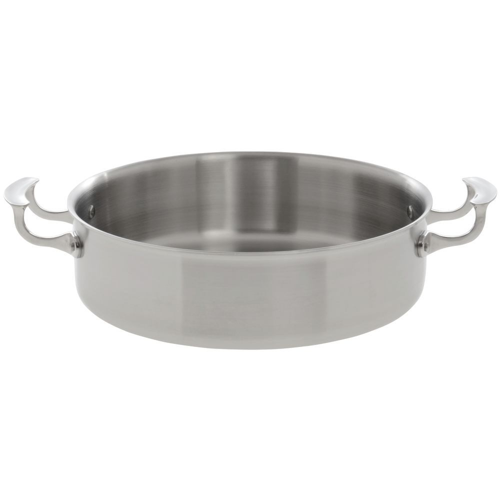 Attractive Brazier Pan with Mirror Finish Handles