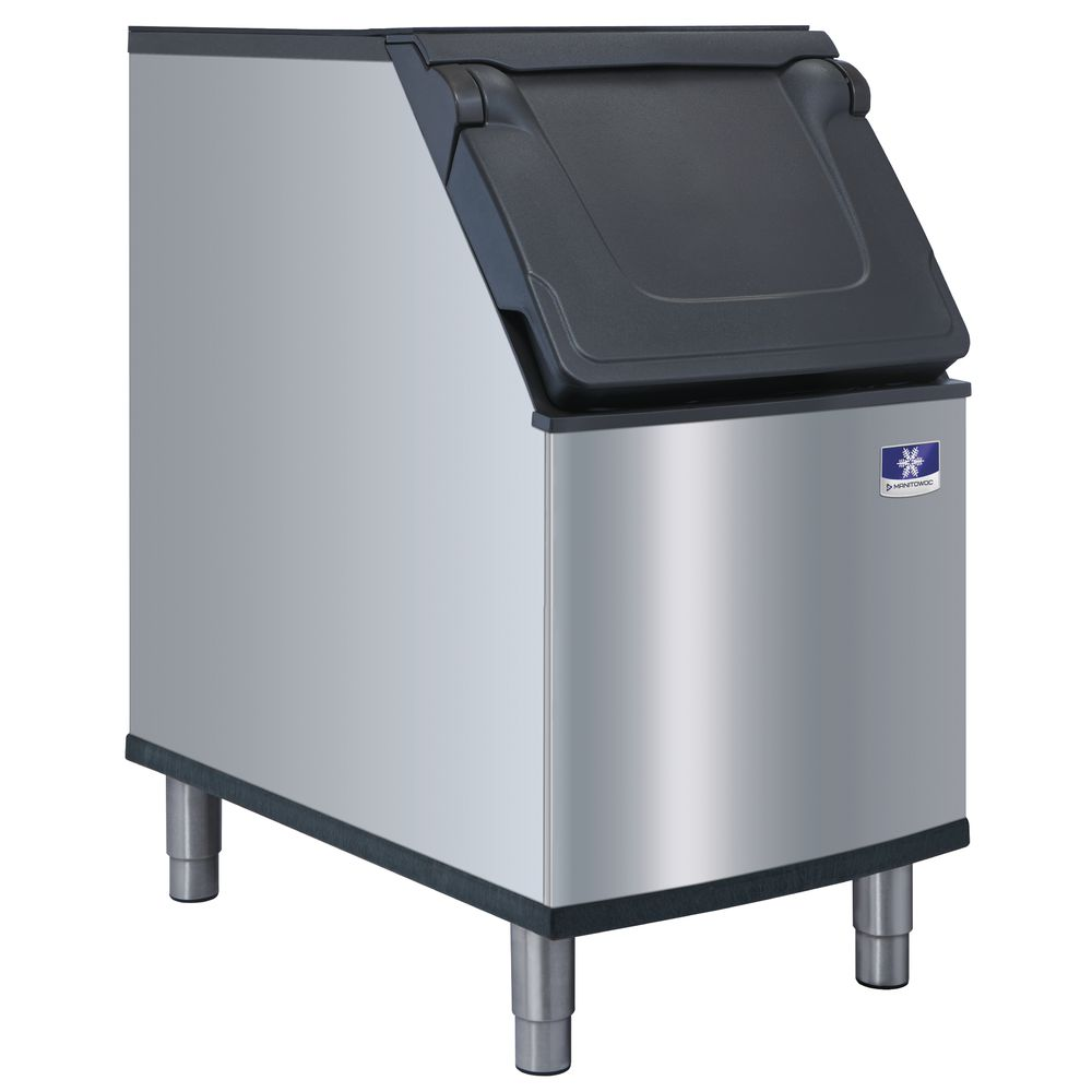 "ICE BIN, HOLDS 265 LBS, 22""WIDE"