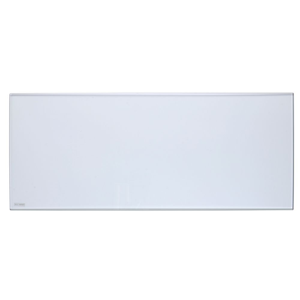 """Rectangular Clear Tempered Glass for Risers 35""""L x 14""""W x 3/8""""H"""