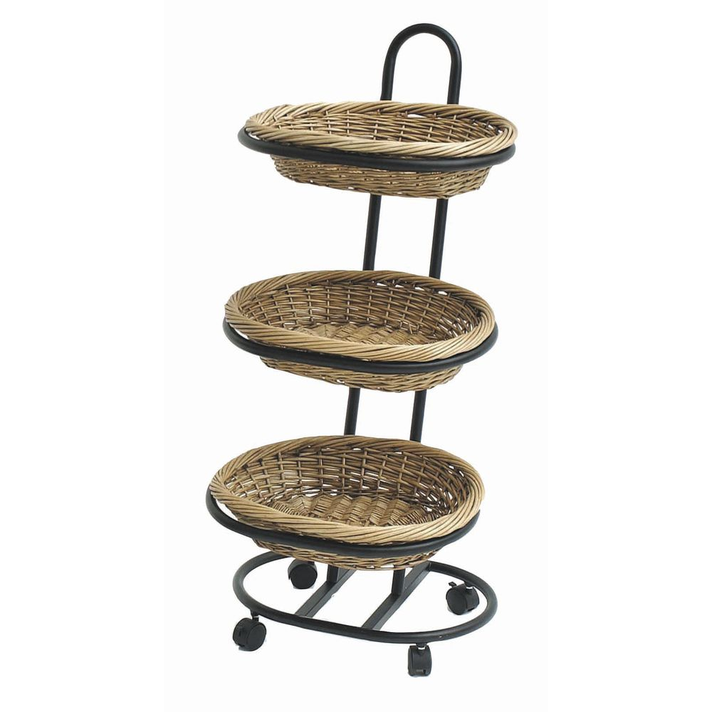 Basket Stand for Spot Merchandising.|Basket Stand has a Black Powder Coated Base for a Stylish Look.|Basket Stand has a Black Powder Coated Base for a Stylish Look.|Basket Stand for Spot Merchandising.|Basket Stand for Spot Merchandising.|Basket Stand for Spot Merchandising.