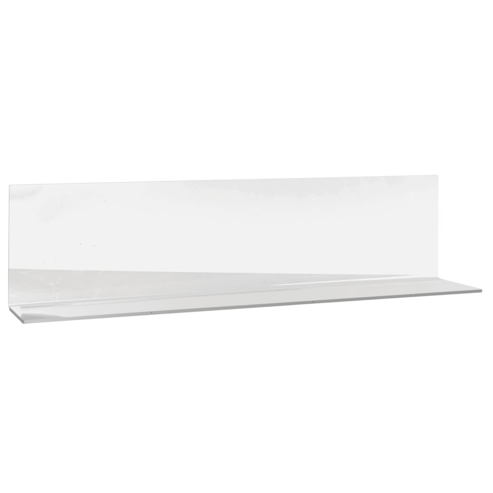 """DIVIDER, SOLID, OPEN END, 24"""", CLEAR"""