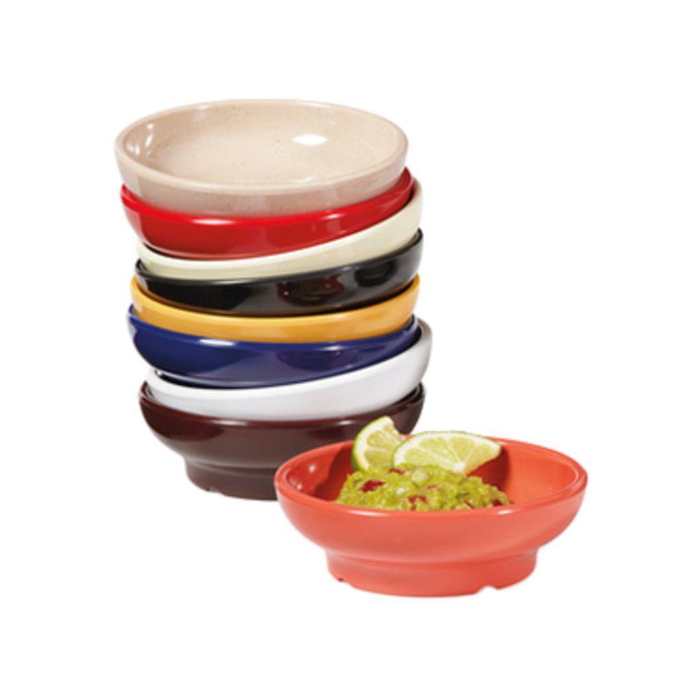G E T  6 Oz Brown Melamine Viva Mexico Salsa Dish