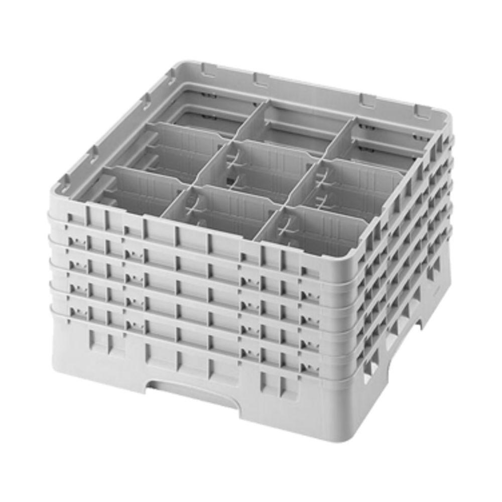 Cambro 25S800184 25 Compartment Camrack 8 1//2 Beige Case of 2