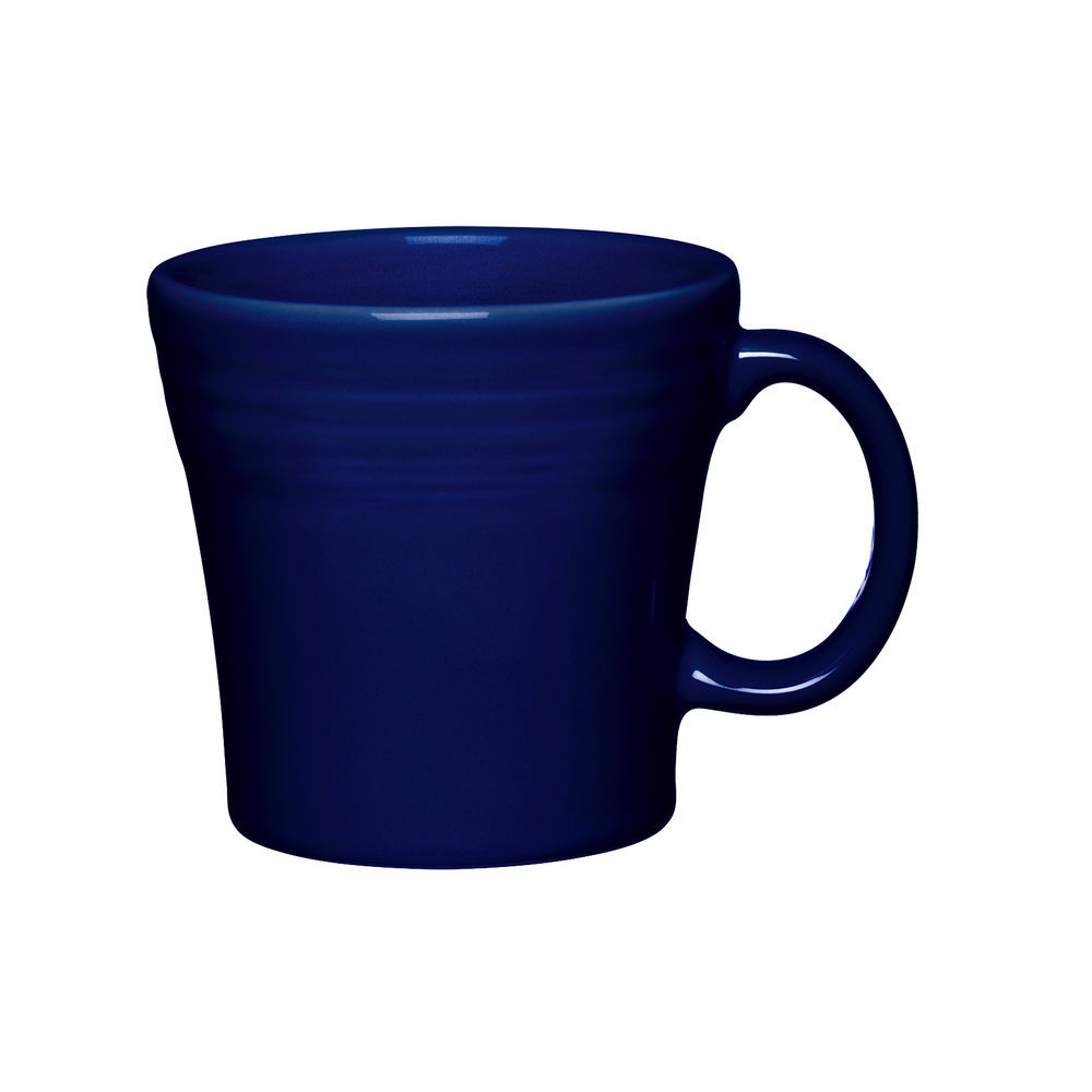 Homer Laughlin Mug, 15 oz , tapered, dishwasher/oven/microwave safe, fully  vitrified, lead free, Fiesta, Cobalt Blue (0105 1475) Made in USA