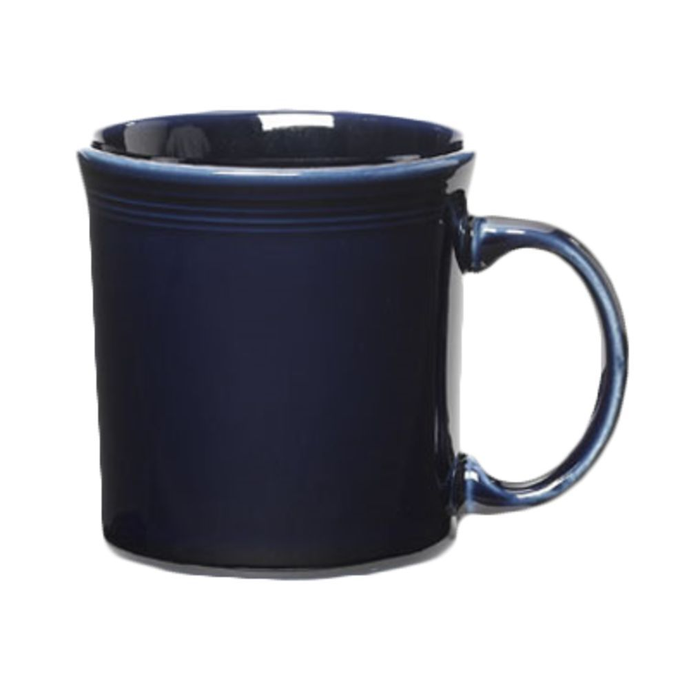 Homer Laughlin Java Mug, 12 oz , round, dishwasher/oven/microwave safe,  fully vitrified, lead free, Fiesta, Cobalt Blue (0105 0570) (10 day lead  time)