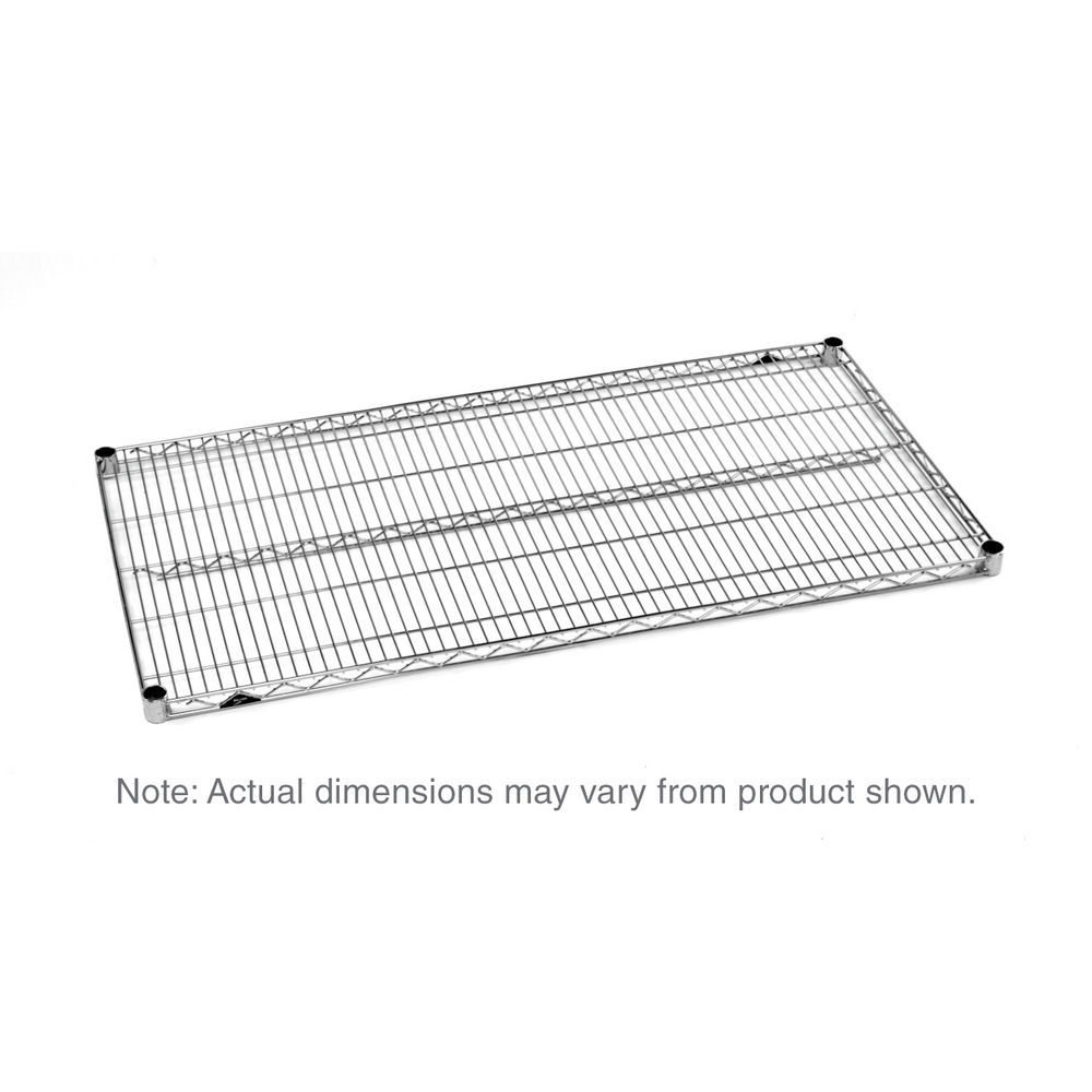 metro super erecta wire shelf  brite  24 u0026quot  x 54 u0026quot