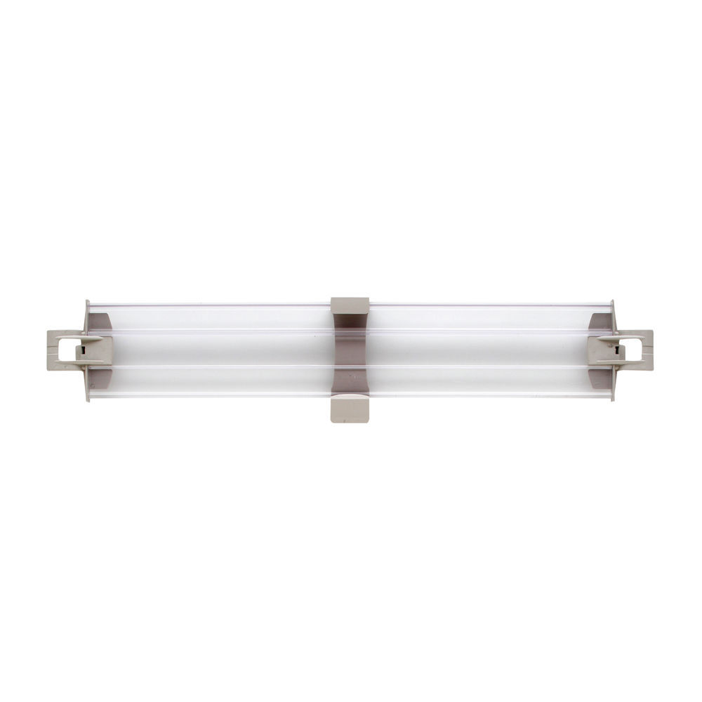 24x 4 Back Metro MAX4-L24-4P MetroMax 4 Solid Clear Stackable Shelf Ledge