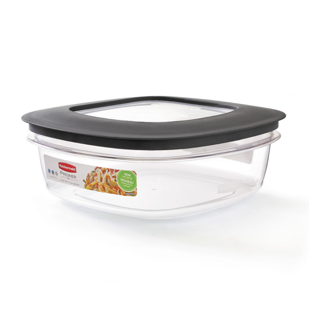 Rubbermaid Food Storage Container, Square, #1937692