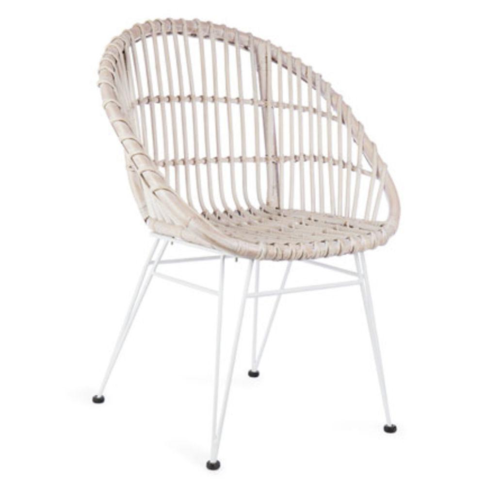 Rattan Chair Metal Legs: Willow Specialties RATTAN CHAIR WITH METAL LEGS