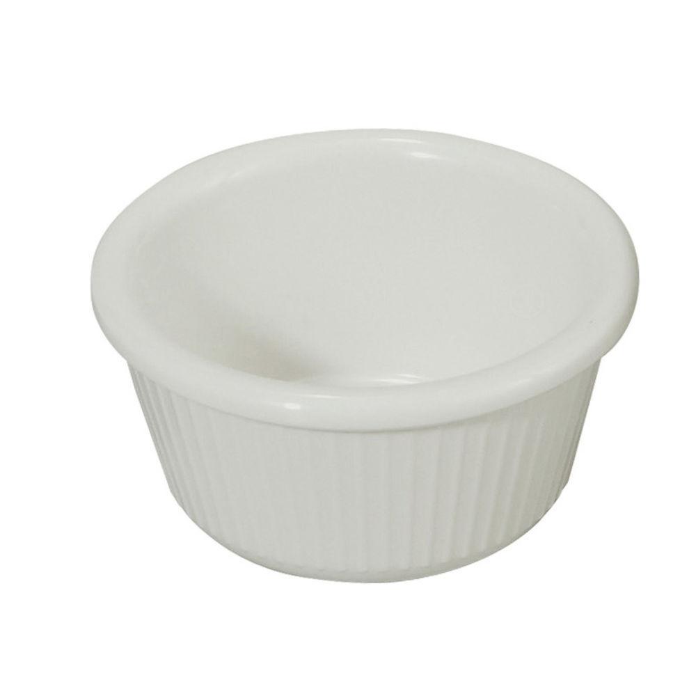 Winco Ramekin 3 Oz Fluted White Sold By 1 Dozen