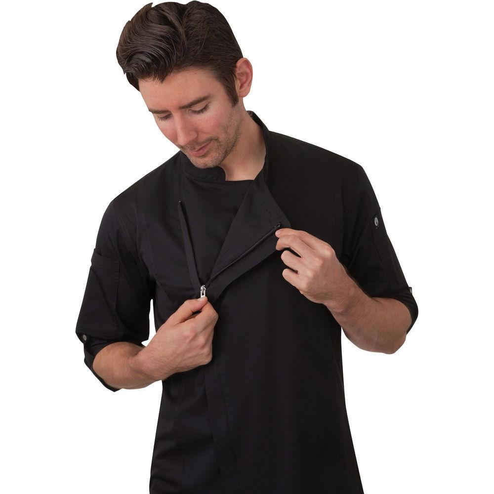 Choose SZ//color Details about  /Chef Works Men/'s Lansing Chef Coat