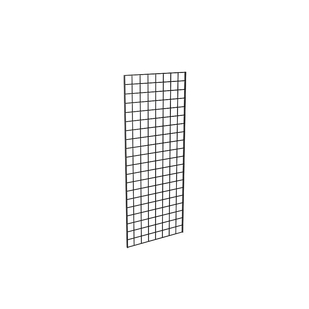 2/' Width x 6/' Height 3 Grids Per Carton Perfect Metal Grid for Any Retail Display Grid Panel for Retail Display Chrome