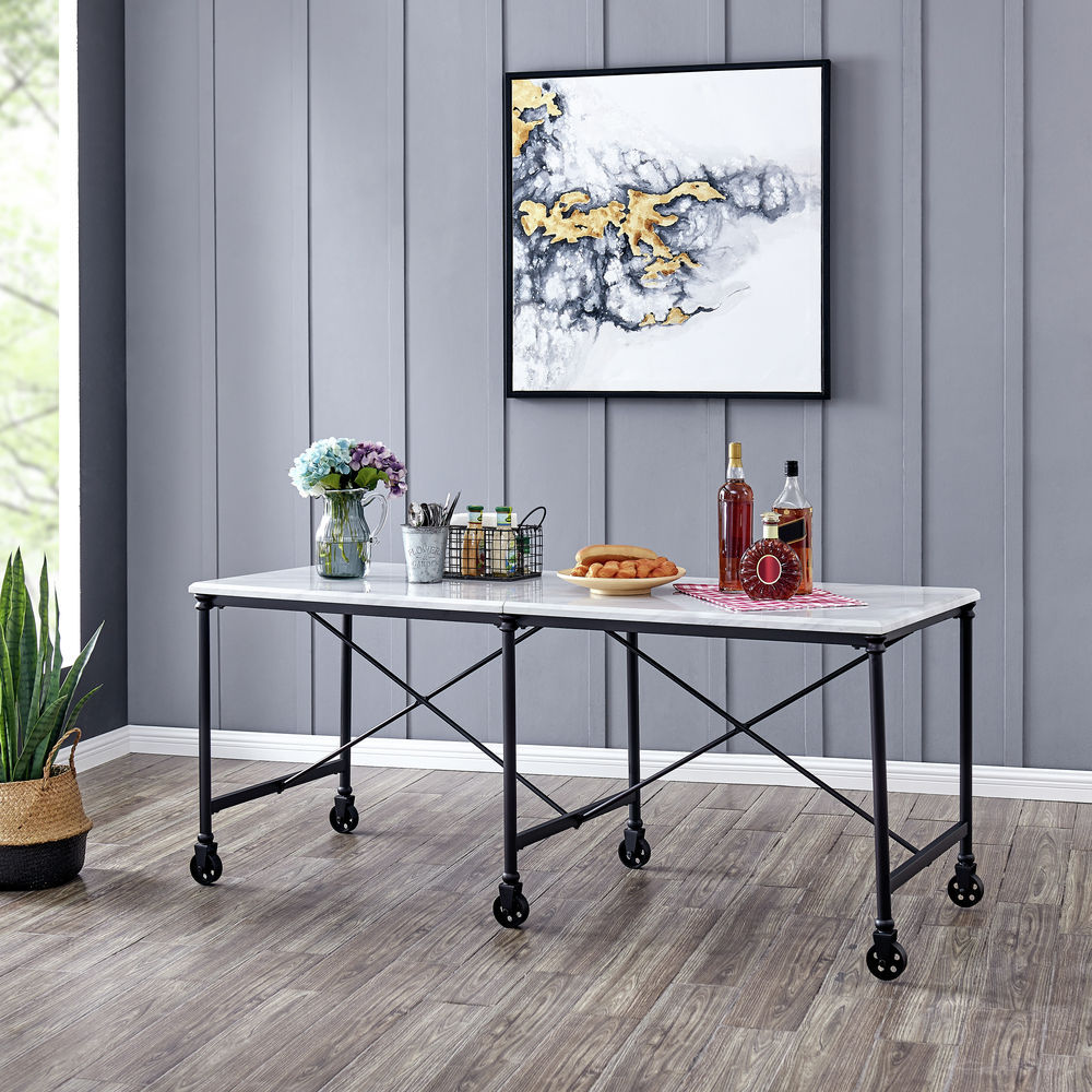 Dontos Industrial Kitchen Cart Southern Enterprises: Southern Enterprises Nothryn Industrial Kitchen Island