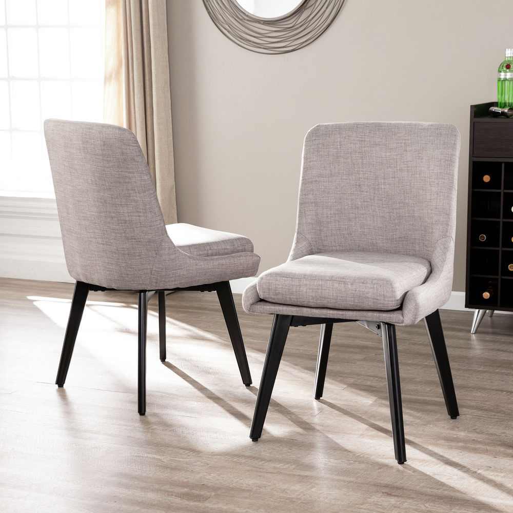Superb Southern Enterprises Shayla Swivel Accent Chairs 2 Pc Set Gray Pdpeps Interior Chair Design Pdpepsorg