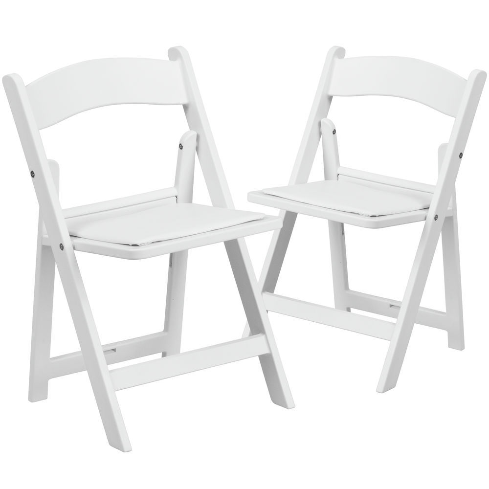 Flash Furniture Replacement Seat For White Resin Folding Chair
