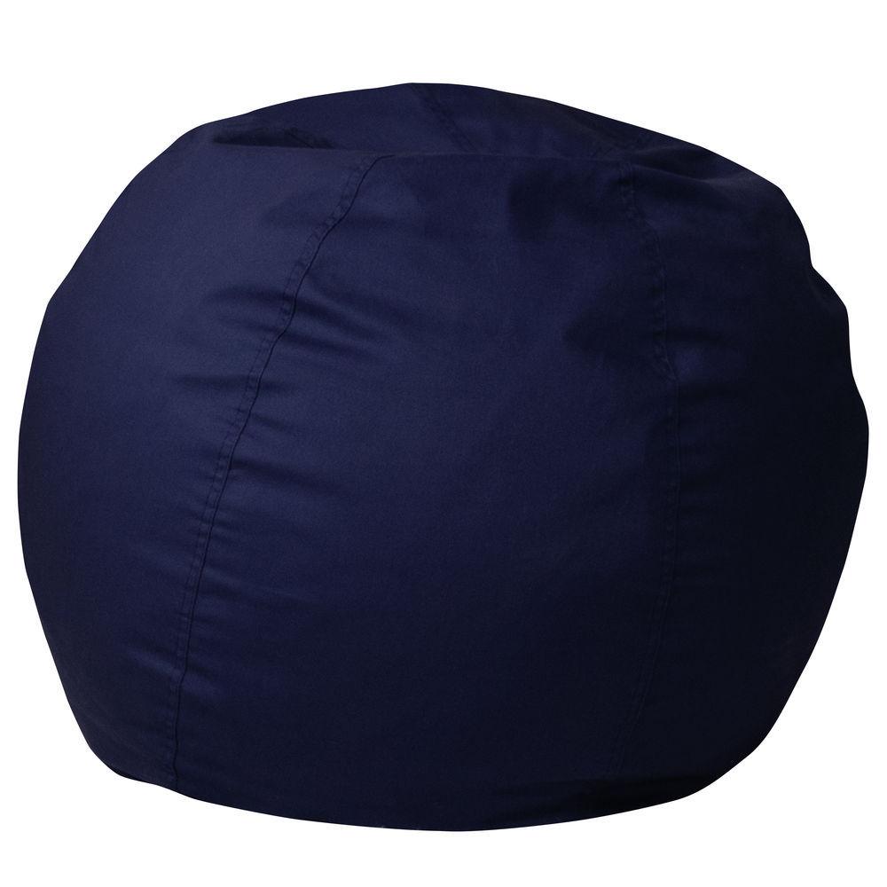 Strange Flash Furniture Small Solid Navy Blue Kids Bean Bag Chair Inzonedesignstudio Interior Chair Design Inzonedesignstudiocom