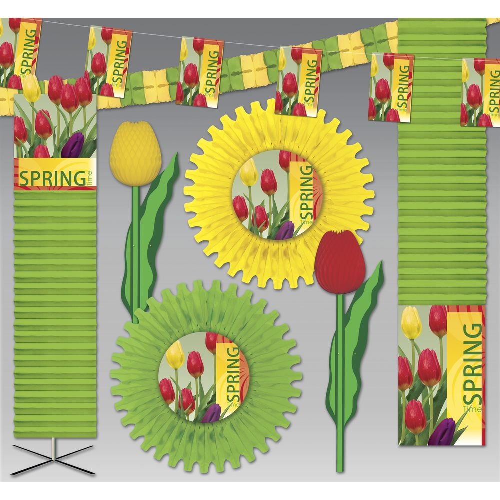 KIT, DECORATIONS, SIGNS OF SPRING, 3000SQFT