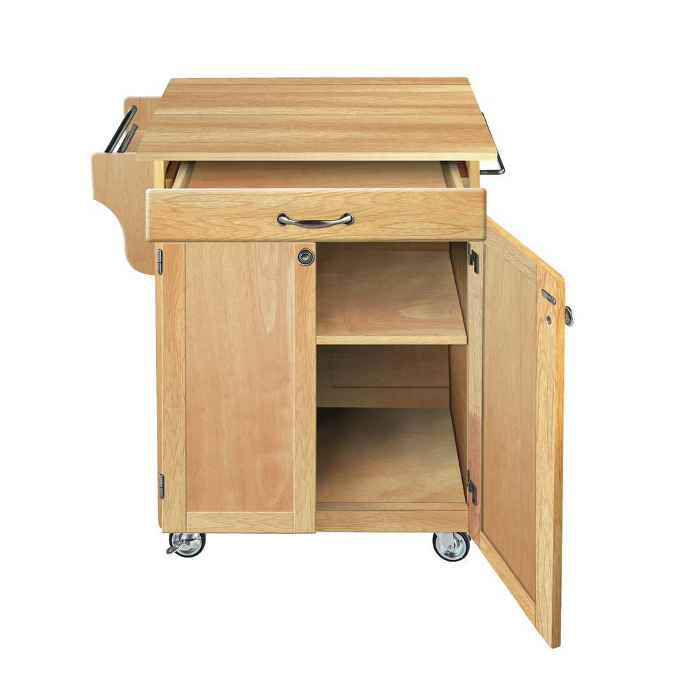 Wood Portable Kitchen Island