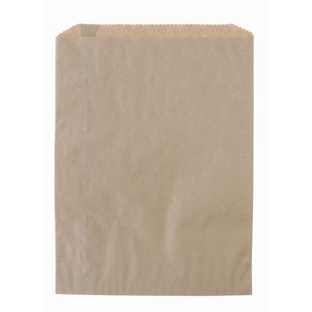 BAGS, FLAT MERCHANDISE, 8-1/2X11 KRAFT