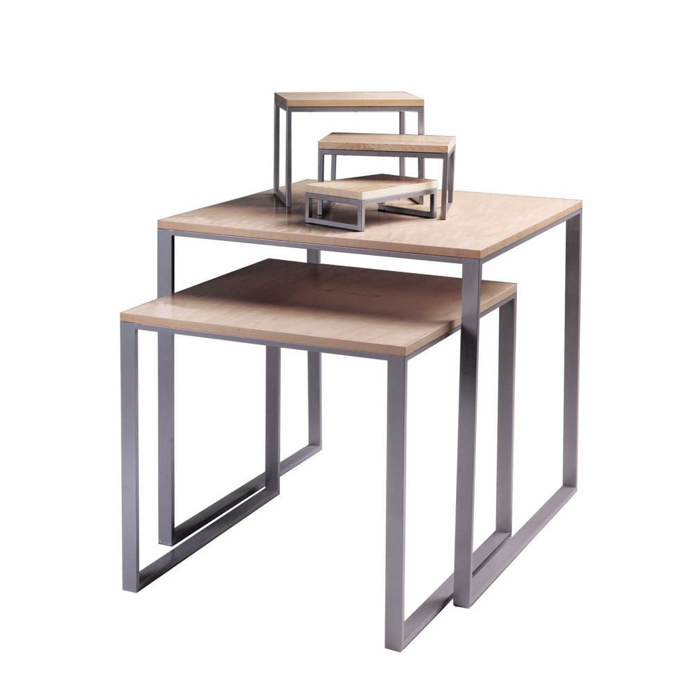 Low Display Nesting Table