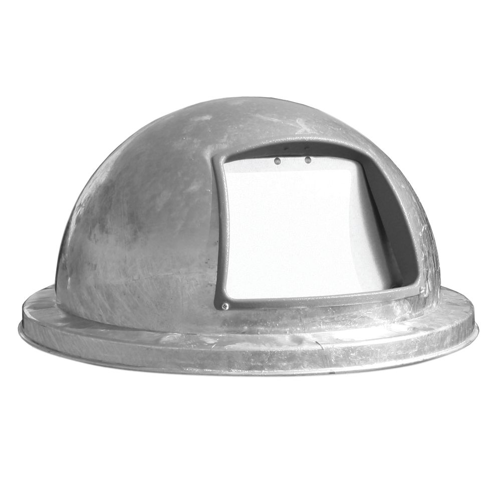 LID, DOME, GALVANIZED, FOR 32 GAL CANS