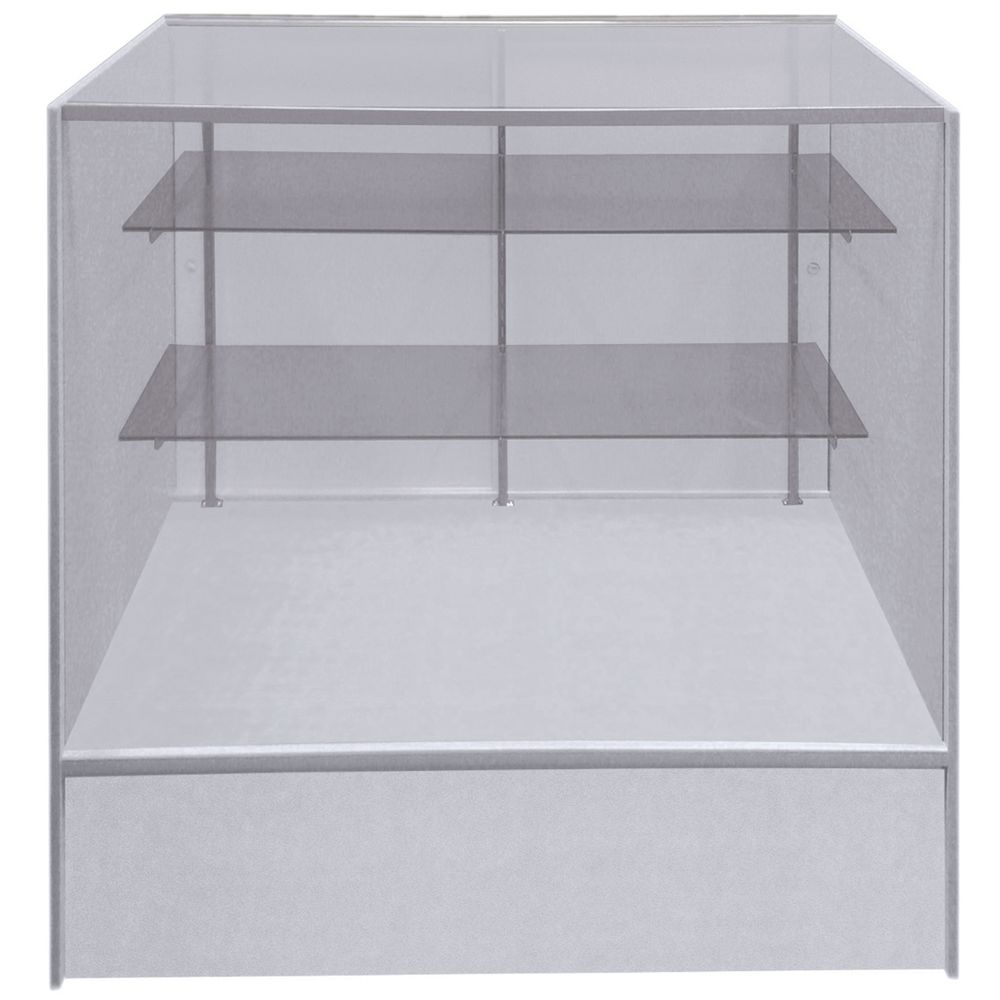 SHOWCASE, FULL VISION, WHITE, 4FT