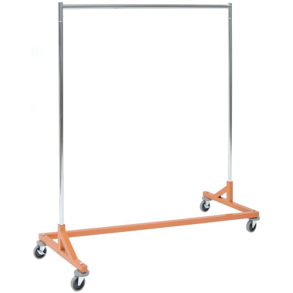 Osha Orange Z-Garment Rack