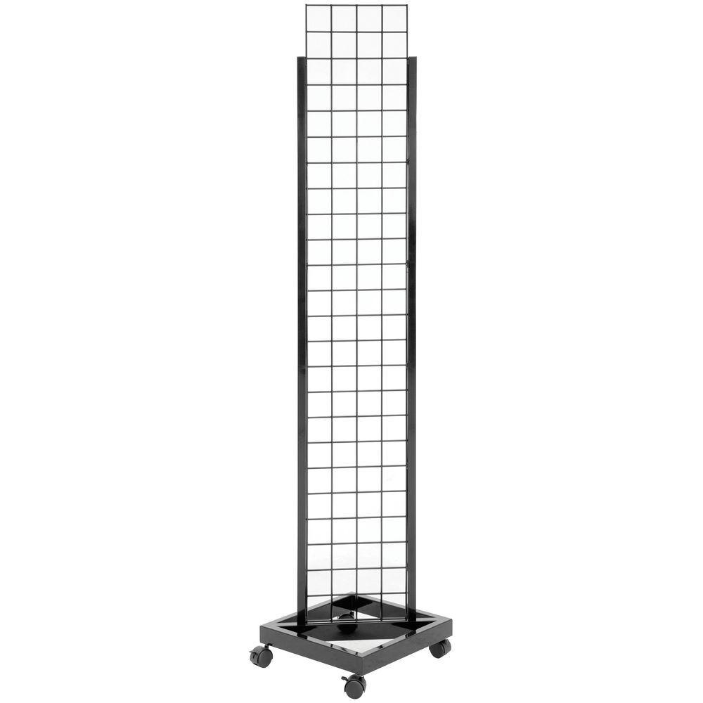Narrow Wire Grid Display Rack