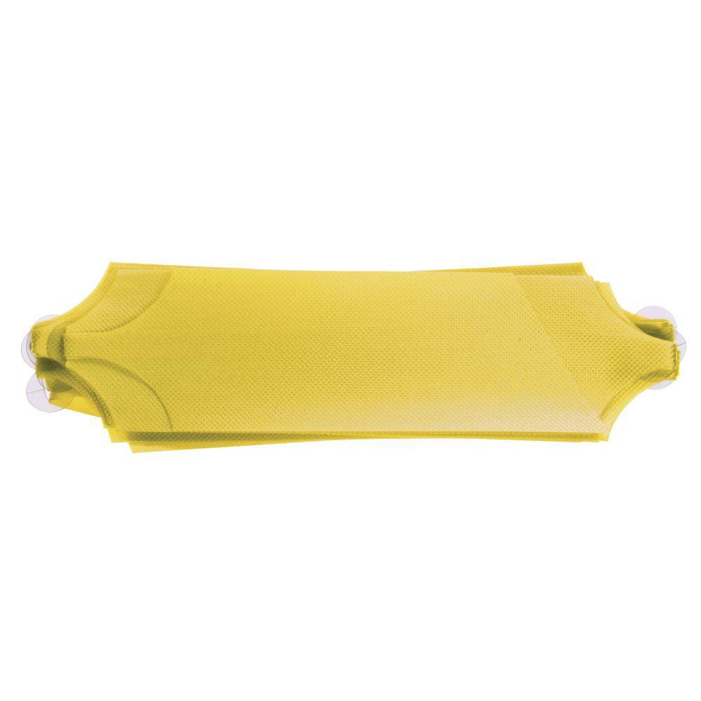 Yellow Flora-Satin Pull Bows