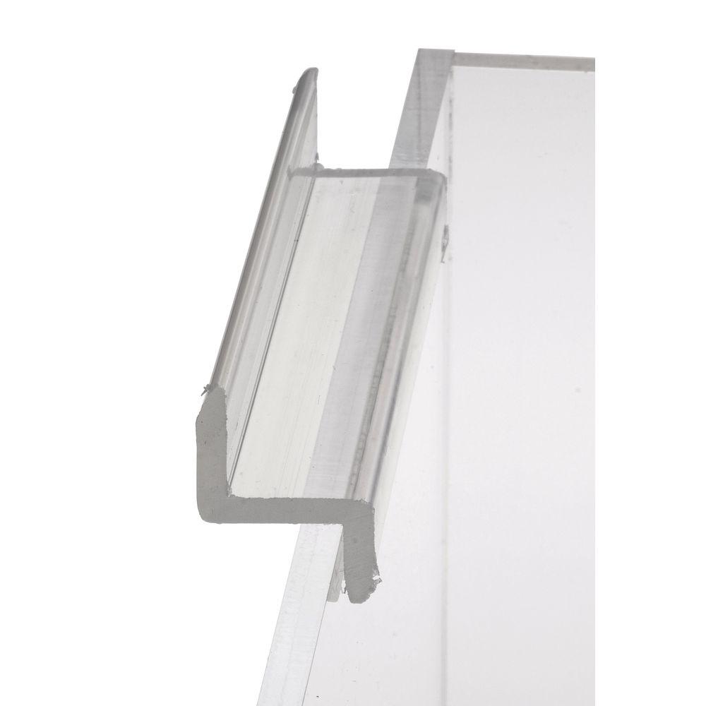 """6"""" Acrylic Bins for Slatwall"""
