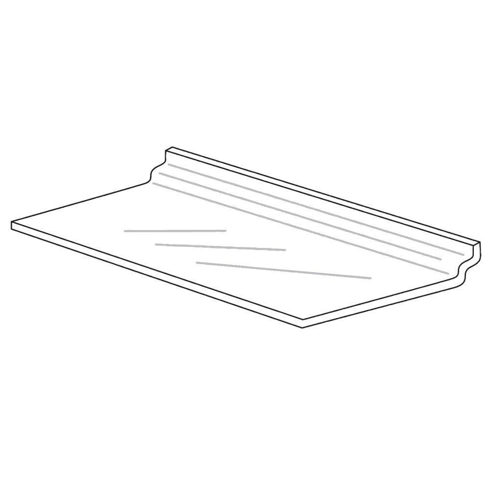 Lightweight Slatwall Shelving