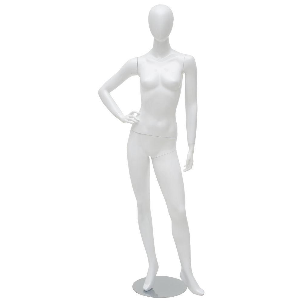 Hand on Hip White Female Manniquen