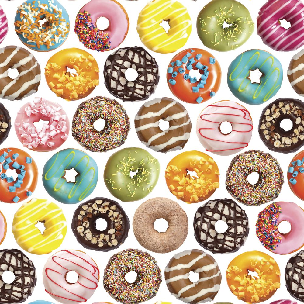 """GIFT WRAP, DONUTS, FULL ROLL, 30""""W"""
