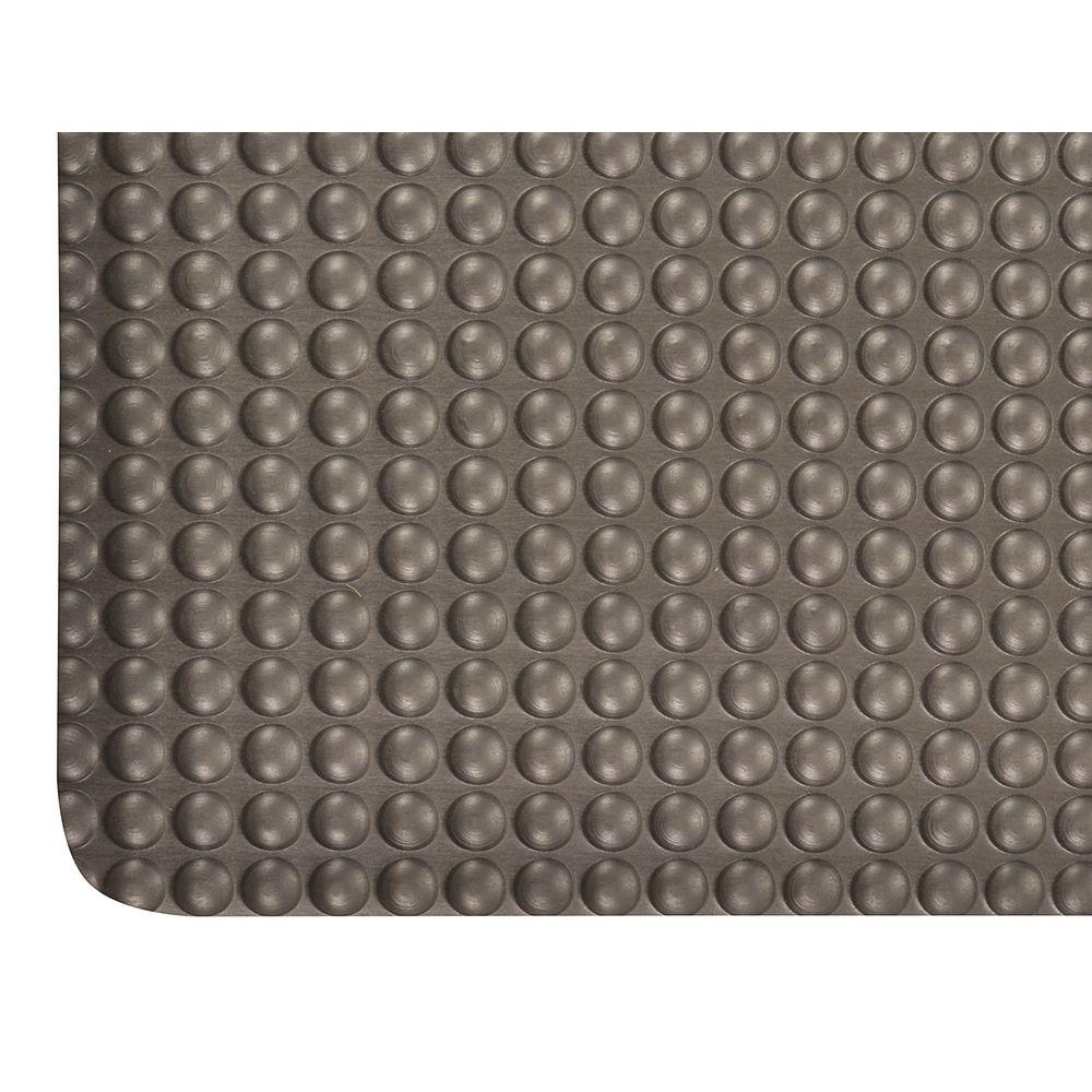 Notrax® Bubble Trax™ Anti-fatigue Mat 36L x 24W x 1/2H Black