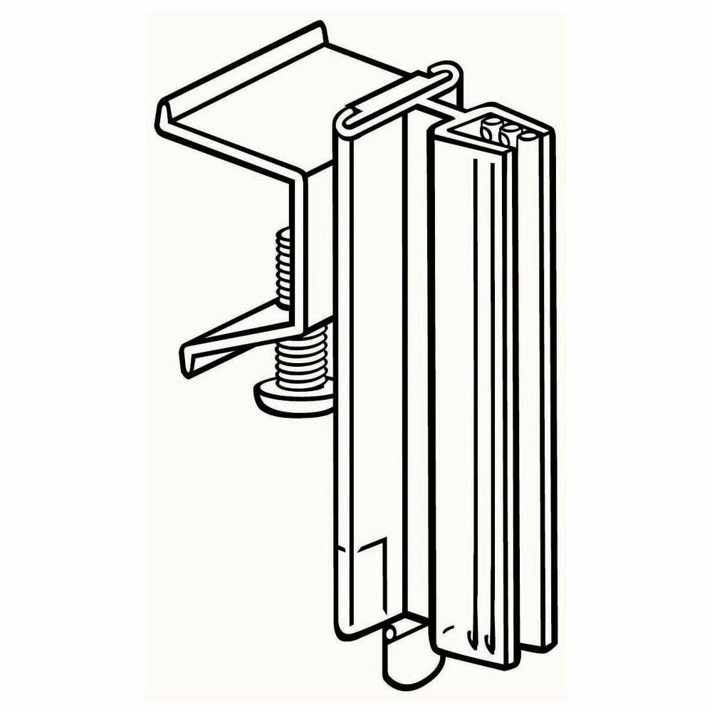 """3"""" (L) Perpendicular Shelf Holder"""