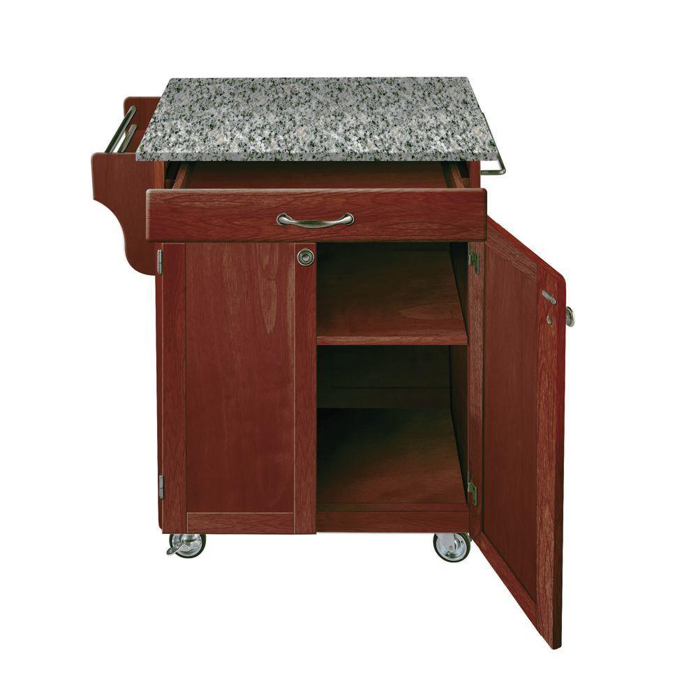 Cherry Base Portable Kitchen Island