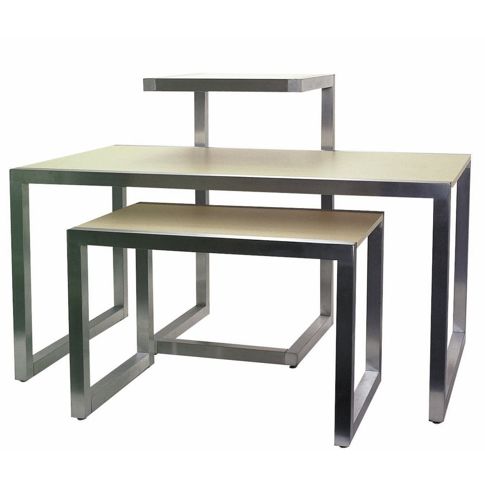 Chrome Nesting Display Tables