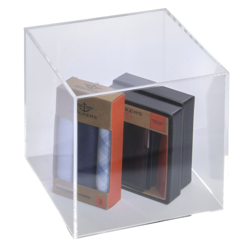 Five Sided Acrylic Display Cube
