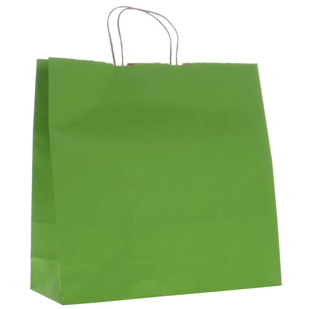 BAG, SHADOW STRIPE, 16 X6 X13, APPLE GREEN