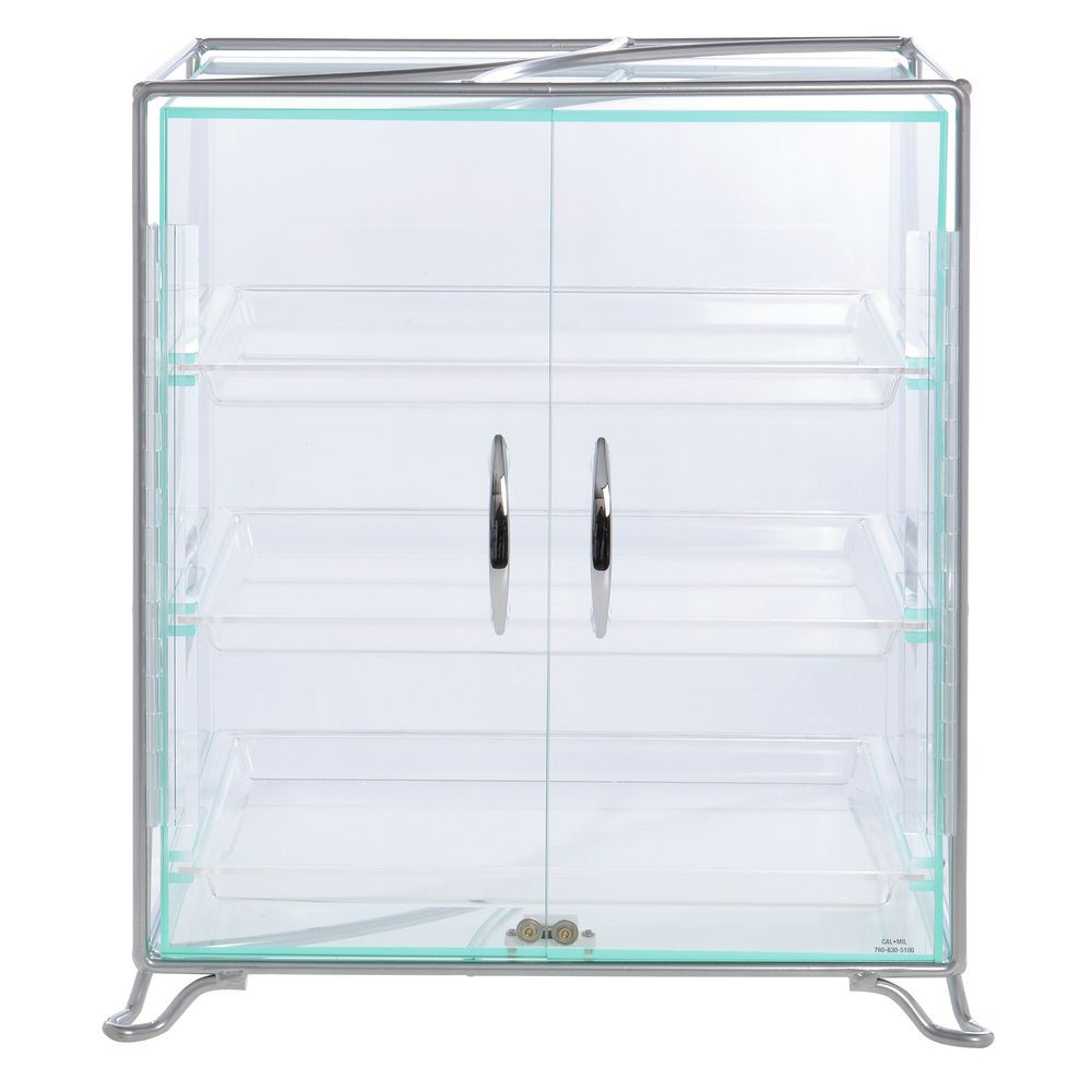 Countertop Bakery Display Case with Decorative Wire Frame